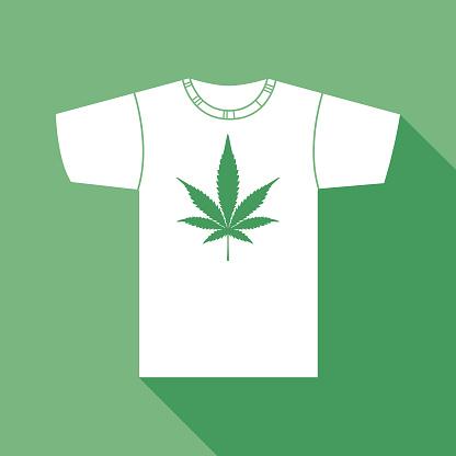 Marijuana Leaf T Shirt
