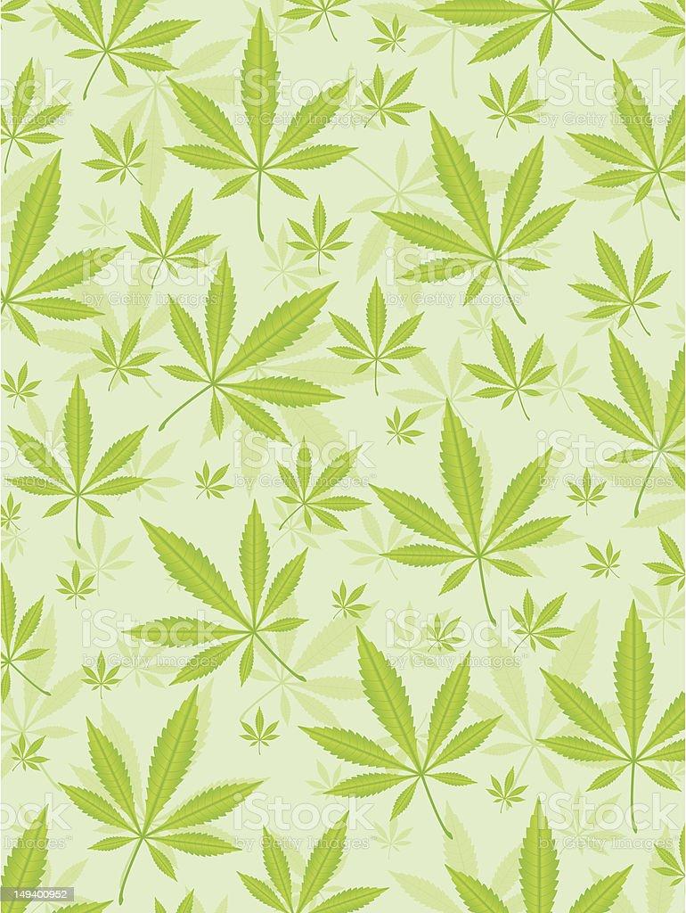 marijuana leafs background royalty-free stock vector art