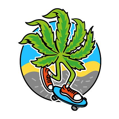 Marijuana skater