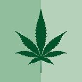 istock Marijuana Square Icon 487306432