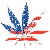 Marijuana - US flag