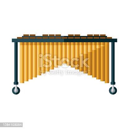istock Marimba Icon on Transparent Background 1284103054