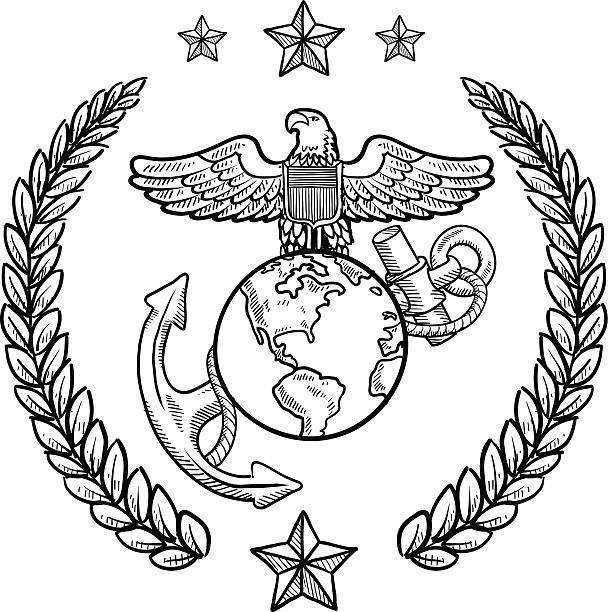 Royalty Free Us Marine Corps Clip Art Vector Images Illustrations