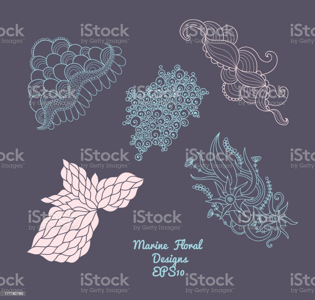 Marine elements royalty-free marine elements stock vector art & more images of abstract