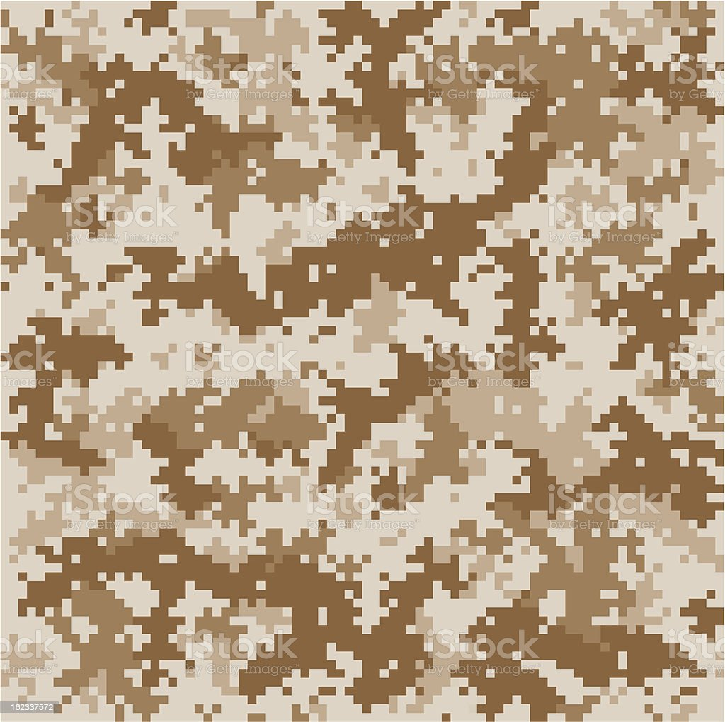 Marine Pixelated Camo royalty-free stock vector art