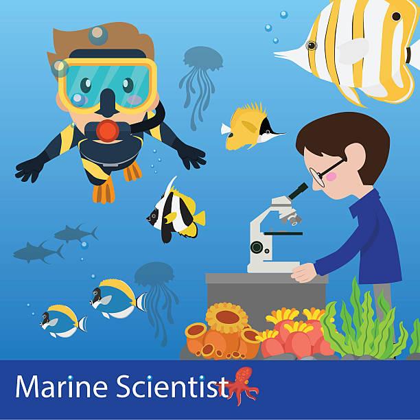 Top 60 Marine Biologist Clip Art, Vector Graphics and ...