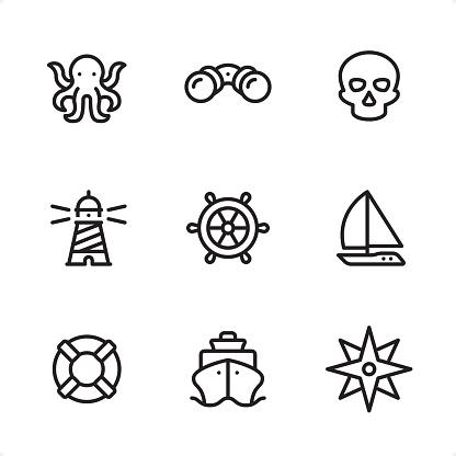 Marine - Single Line icons
