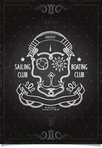 Marine Sports poster sailing and boating club