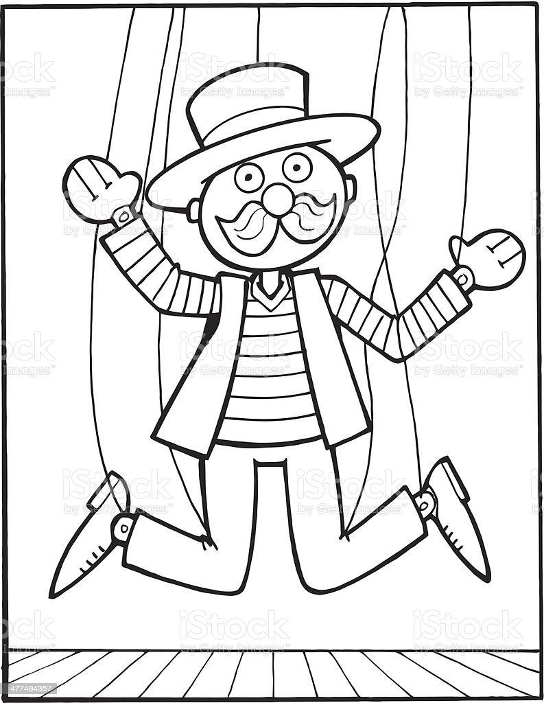 Ilustración De Marioneta De Hilo Y Más Vectores Libres De