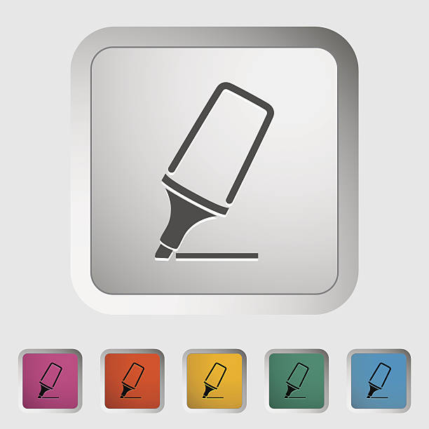 markierung - filzarbeiten stock-grafiken, -clipart, -cartoons und -symbole