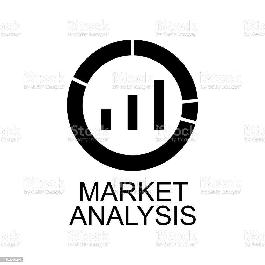 market analysis icon. Element of seo and development icon with name...