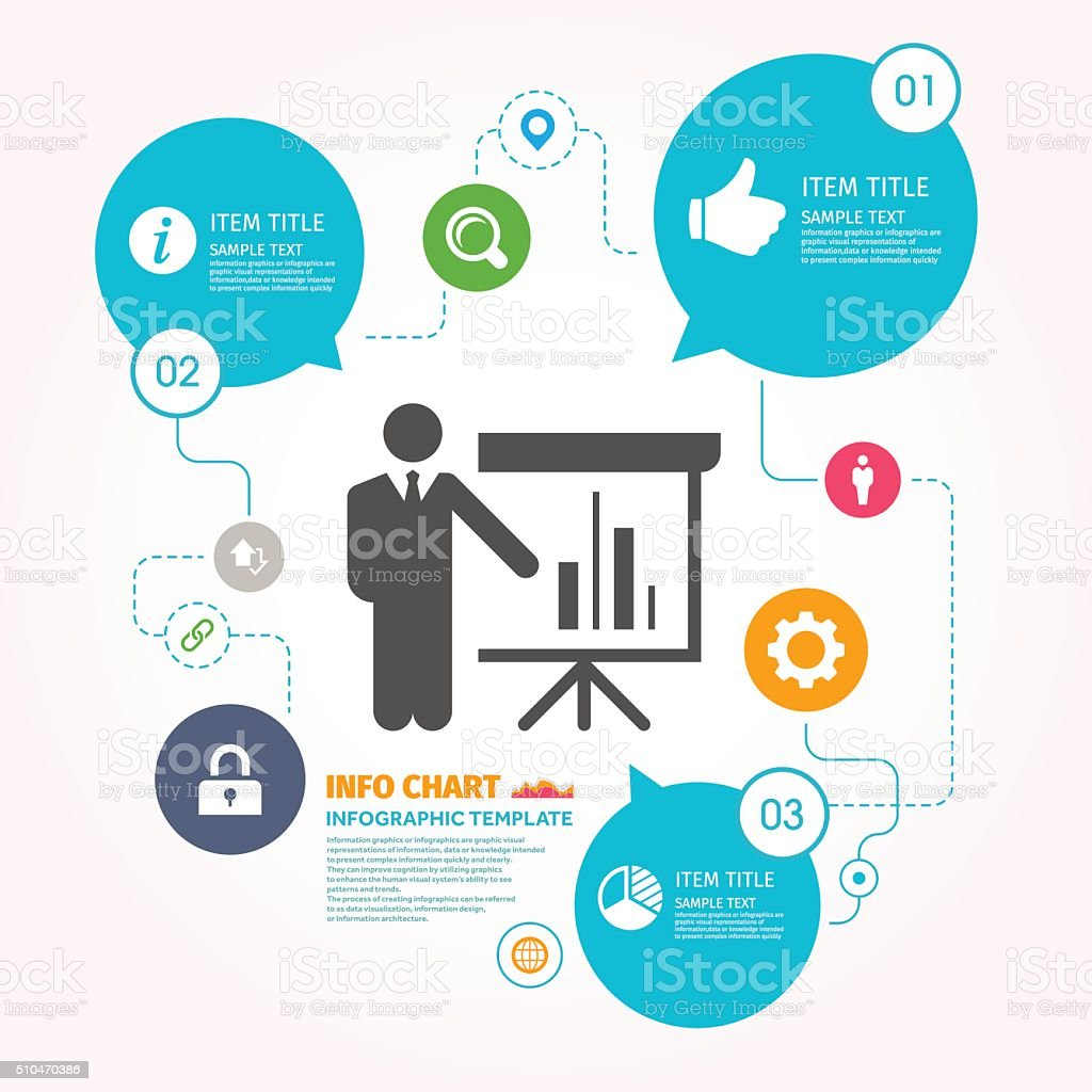 Market Analysis Vector Icon Graphic   Infographic Template Royalty Free  Stock Vector Art