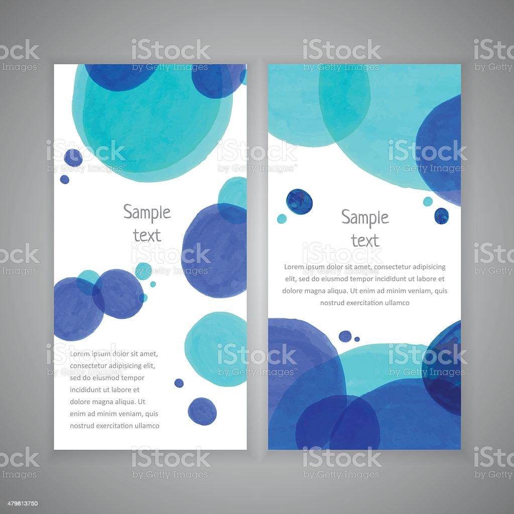 Market circle design template vector art illustration
