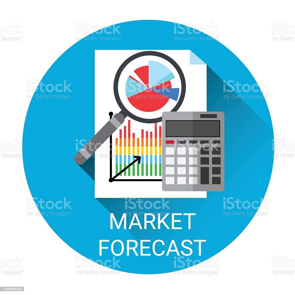 Market Forecast Business Economy Icon royalty-free market forecast business economy icon stock vector art & more images of banking
