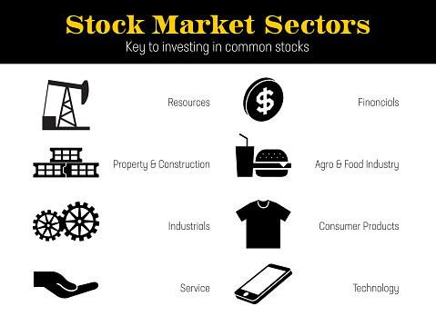 Market Sectors icons