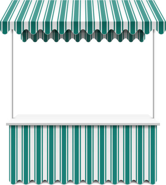 Royalty Free Market Stall Clip Art, Vector Images ...