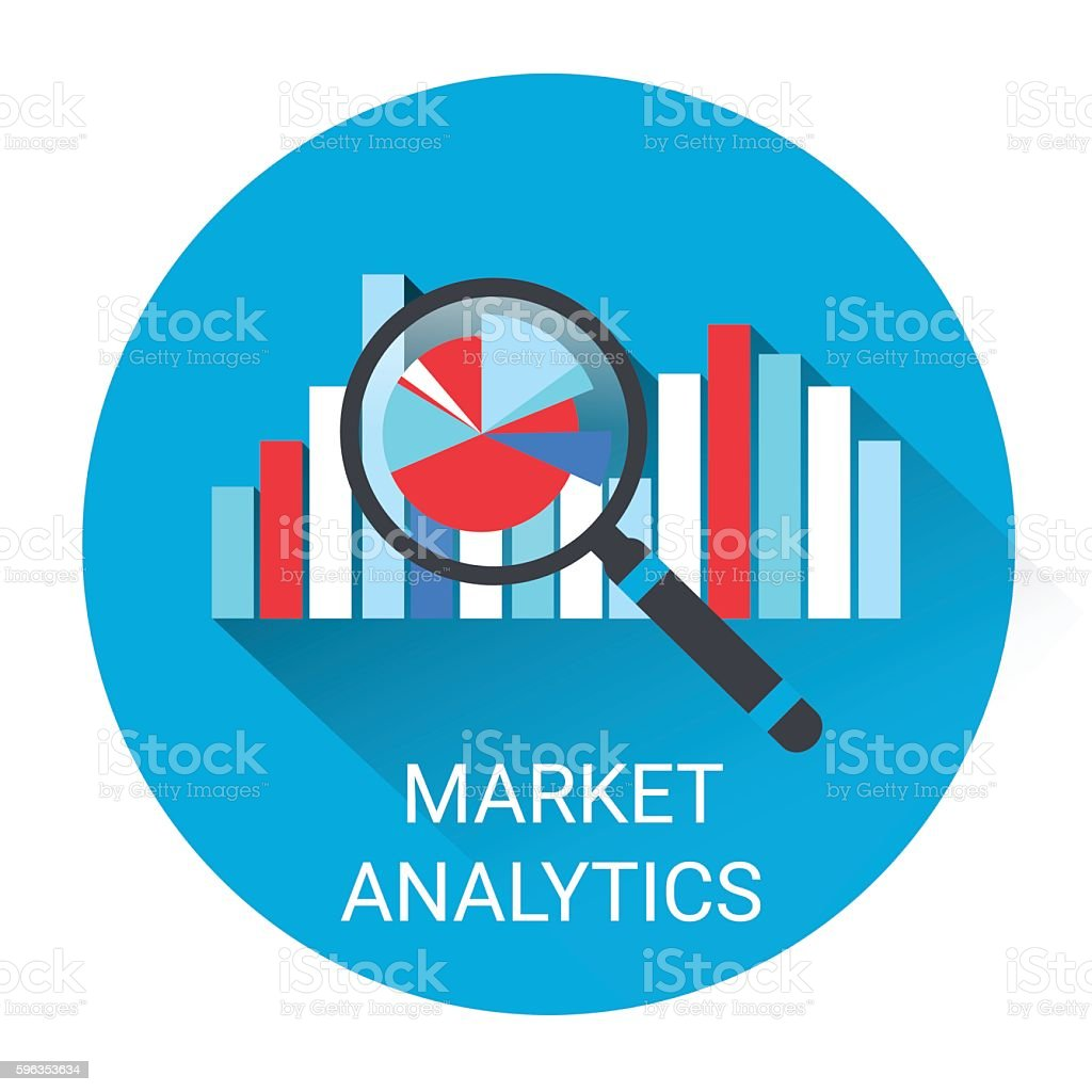 Marketing Analytics Business Economy Icon royalty-free marketing analytics business economy icon stock vector art & more images of banking