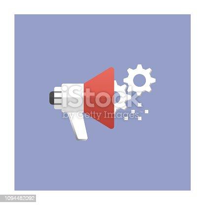 istock Marketing Automation Icon 1094482092