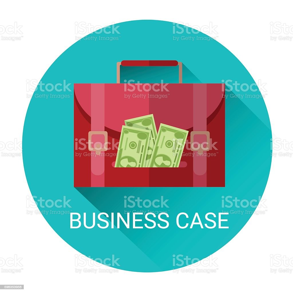 Marketing Business Money Case Economy Icon royalty-free marketing business money case economy icon stock vector art & more images of bank