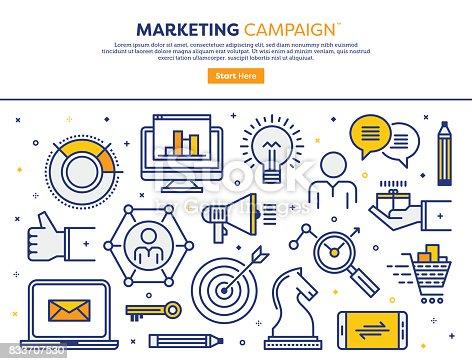 istock Marketing Campaign Concept 833707530