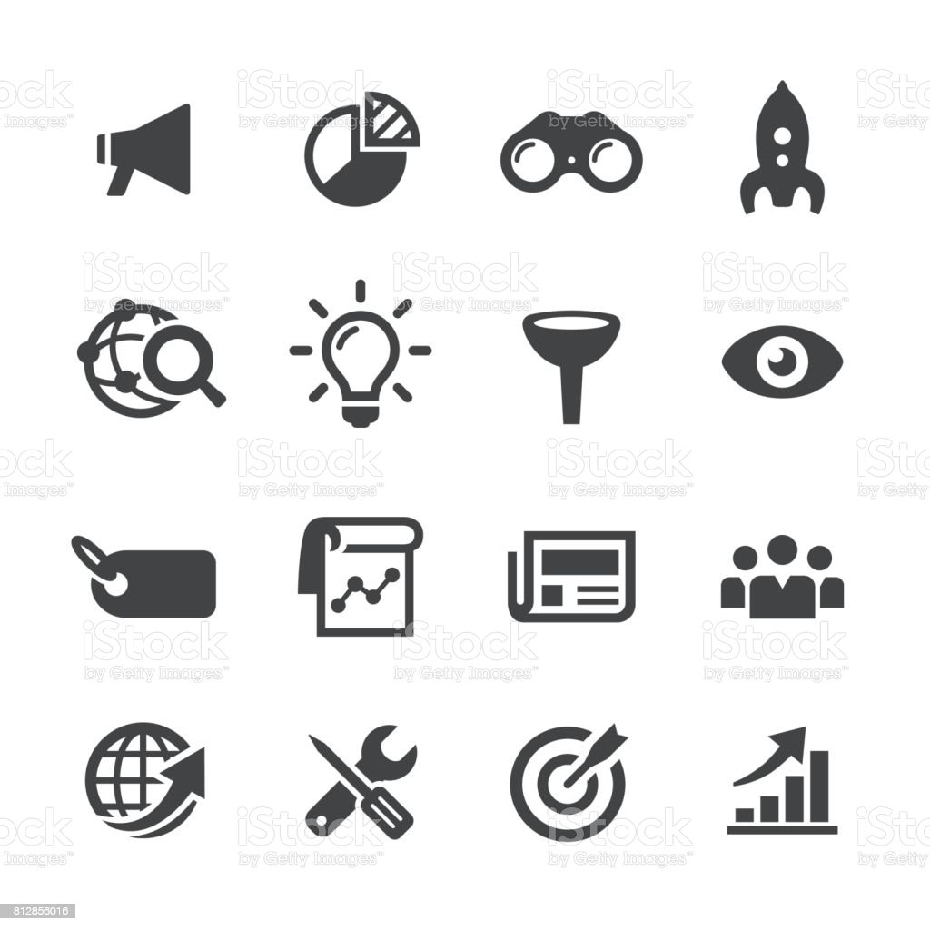 Marketing Icons - Acme Series vector art illustration