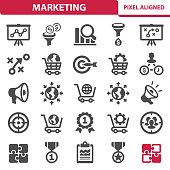 istock Marketing Icons 1030878620