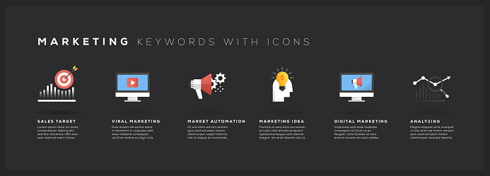 Marketing Keywords with Icons