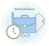 Marketing Management Icon
