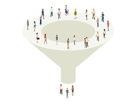 Marketing sales funnel
