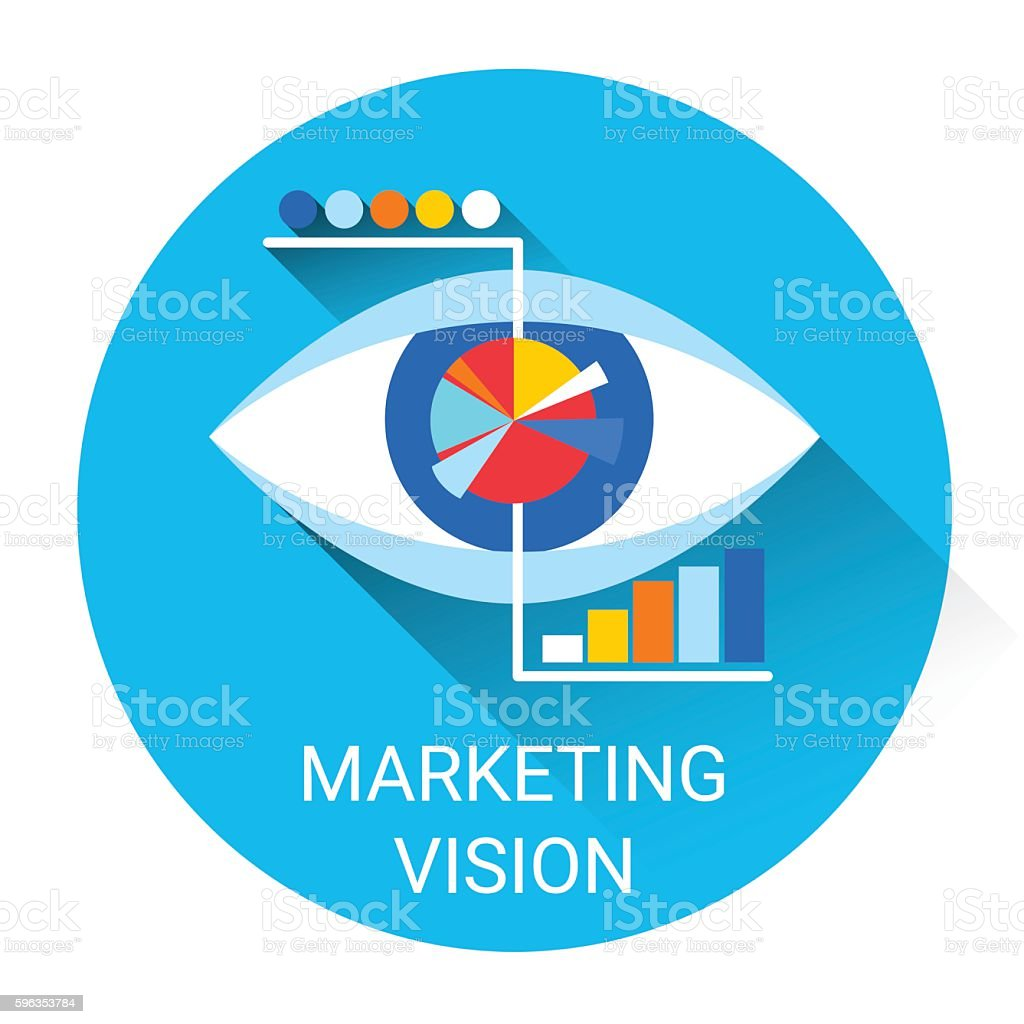 Marketing Vision Business Economy Icon royalty-free marketing vision business economy icon stock vector art & more images of banking