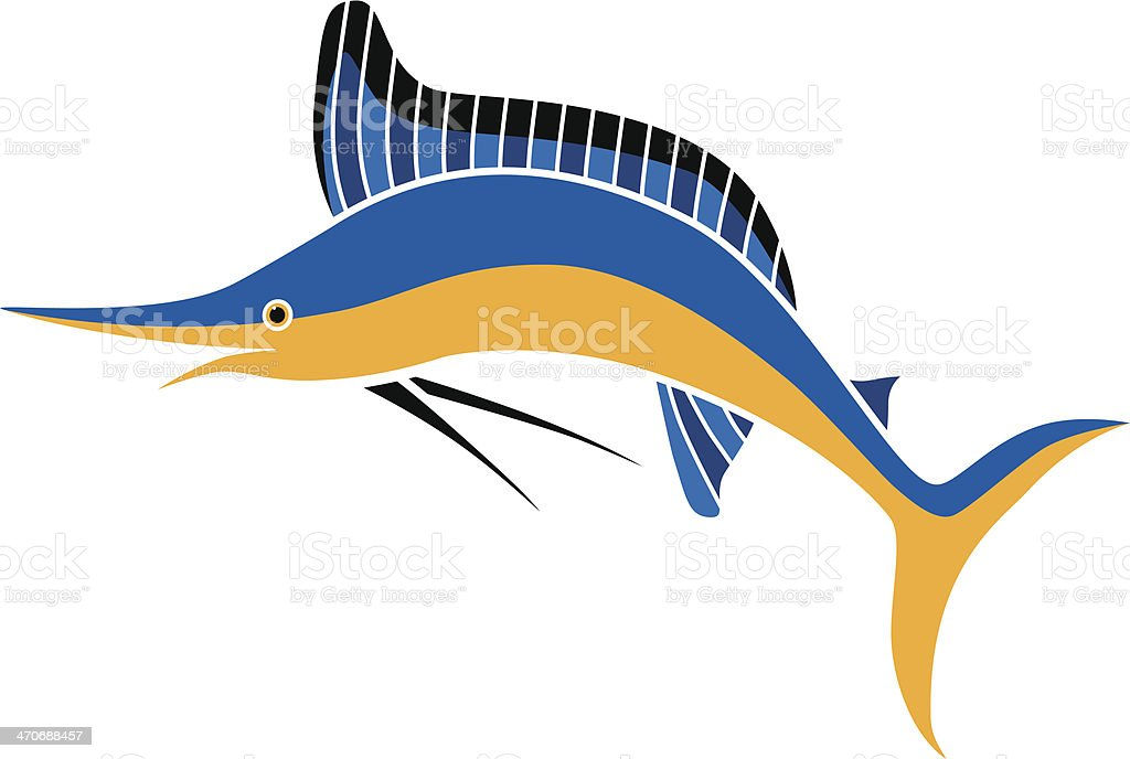 marlin in color royalty-free marlin in color stock vector art & more images of big game fishing