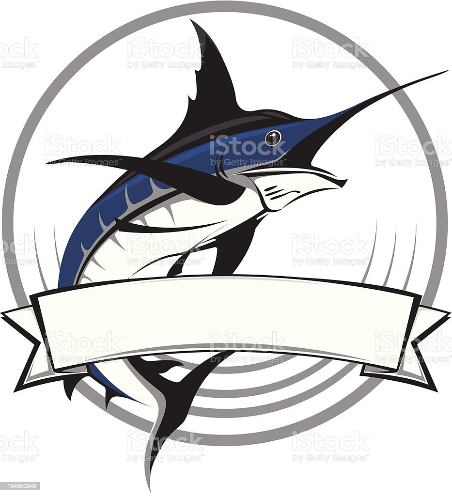 Marlin vector logo royalty-free marlin vector logo stock vector art & more images of big game fishing