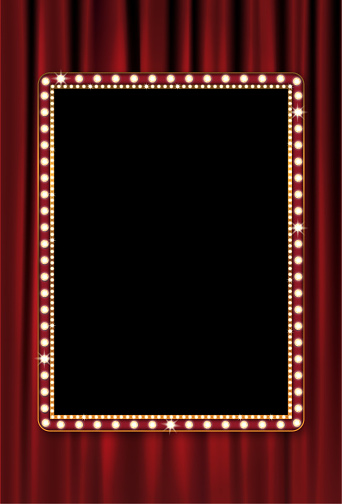 Marquee and Curtain Background