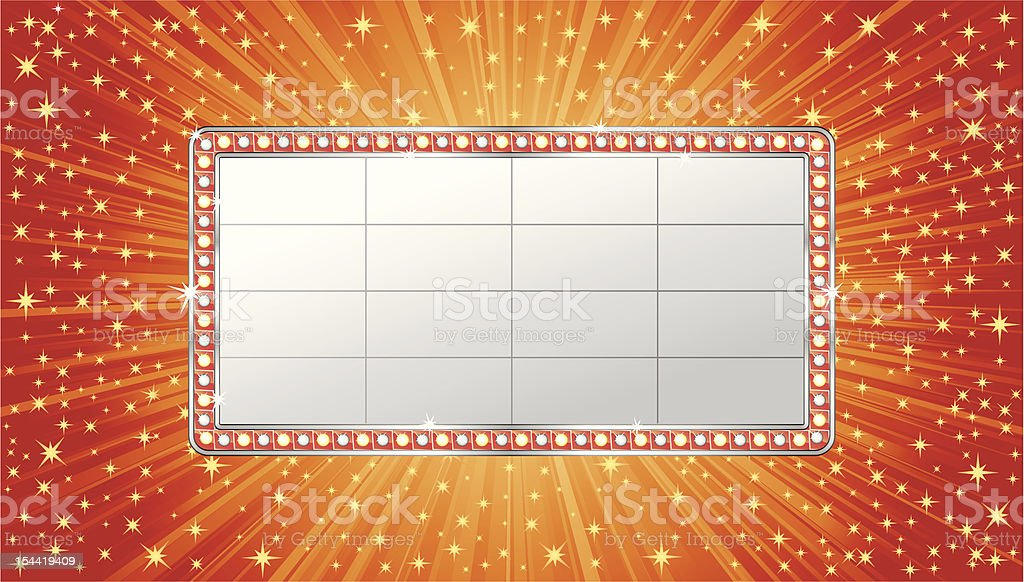 Marquee banner royalty-free marquee banner stock vector art & more images of advertisement
