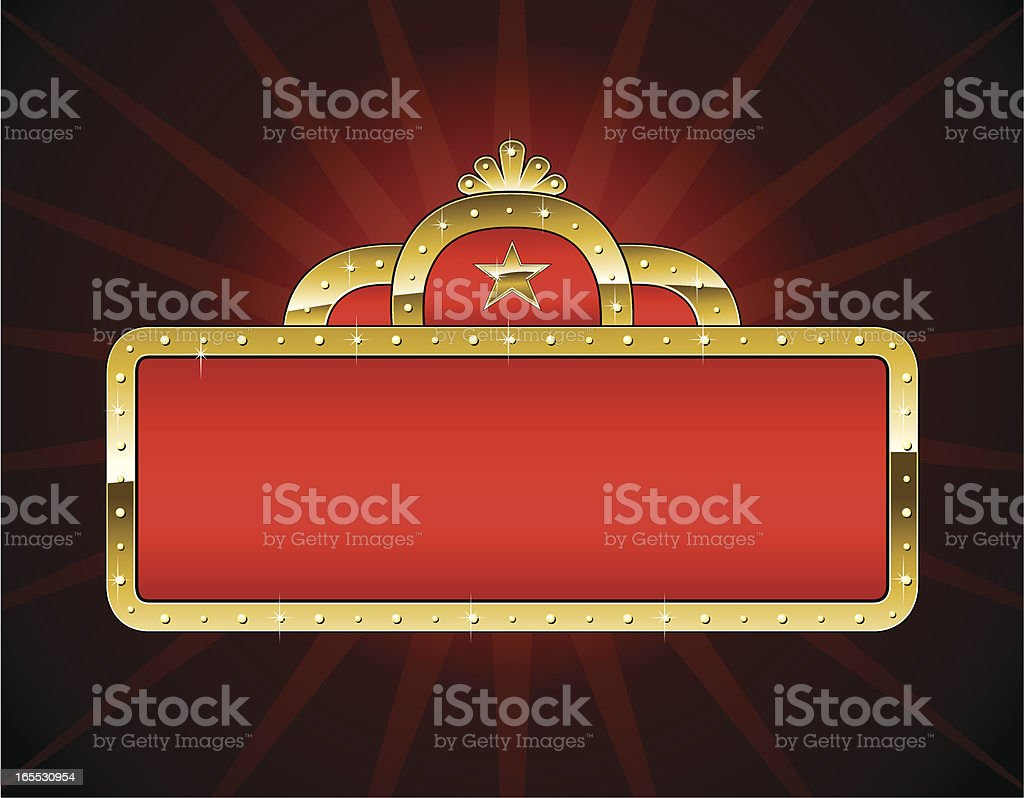 marquee royalty-free stock vector art