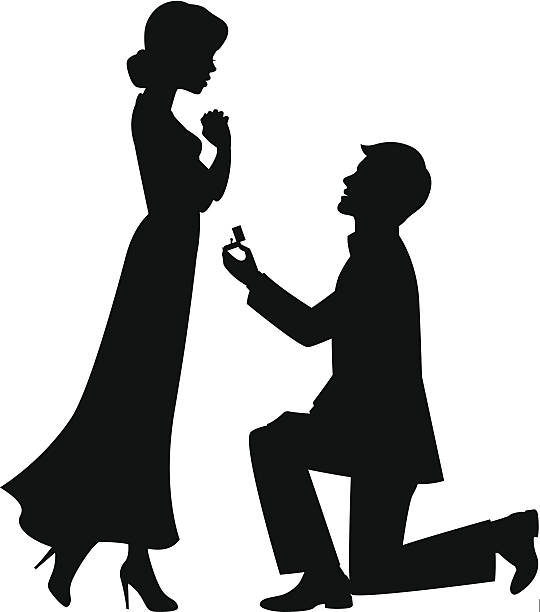 marriage_提案 - 婚約点のイラスト素材/クリップアート素材/マンガ素材/アイコン素材