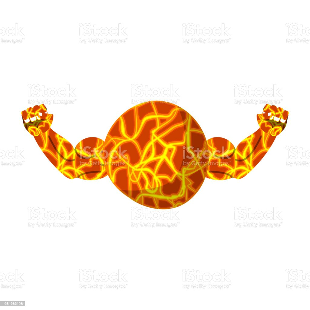 Mars strong fitness health of planet bodybuilding hands stock vector fitness health of planet bodybuilding hands royalty free stock vector art buycottarizona Choice Image