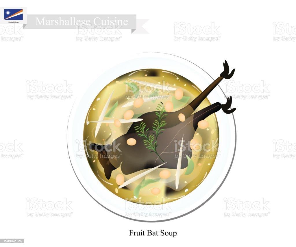 Marshallesisch Flughund Suppe Beliebtes Gericht In Marshall Islandsv ...