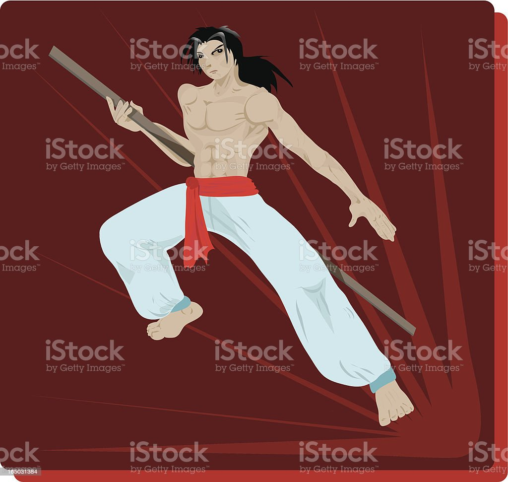 Martial Artist royalty-free martial artist stock vector art & more images of activity