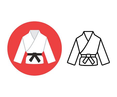 Martial arts icon