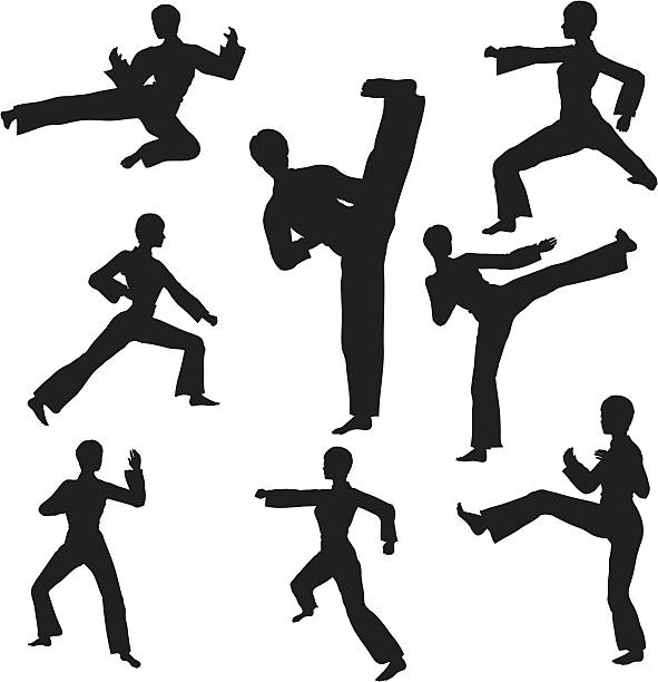 Royalty Free Karate Clip Art, Vector Images ...