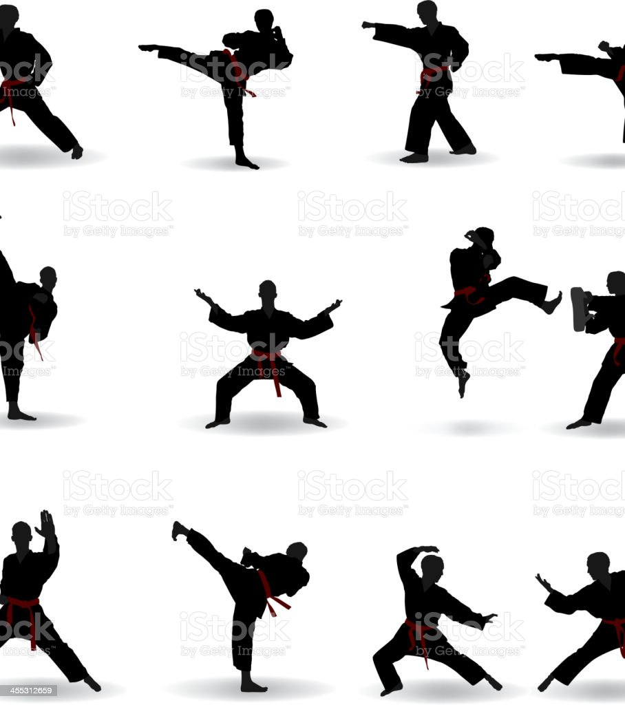 Martial Arts royalty-free martial arts stock vector art & more images of activity