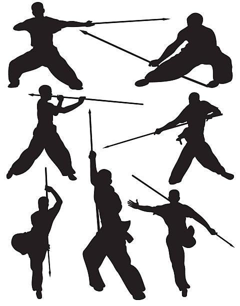 Martial Arts Clip Art, Vector Images & Illustrations - iStock