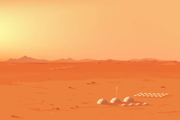 Top 60 Mars Landscape Clip Art, Vector Graphics and ...