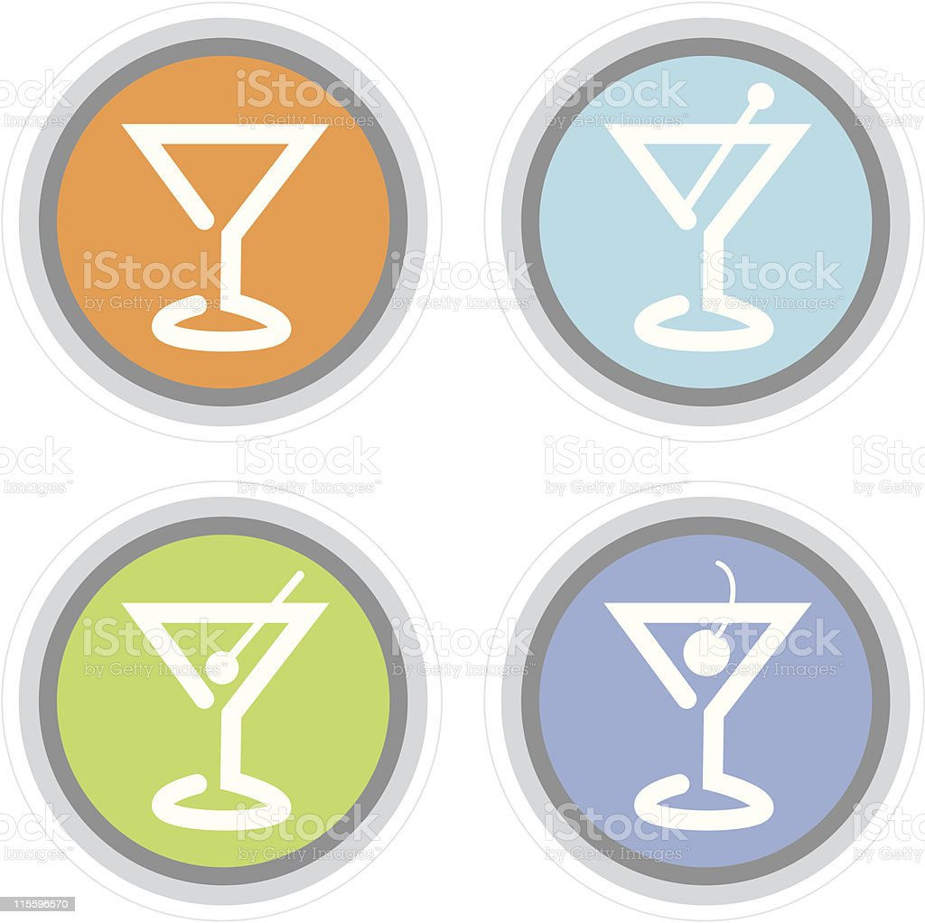 Martini Cocktail Icon royalty-free martini cocktail icon stock vector art & more images of alcohol