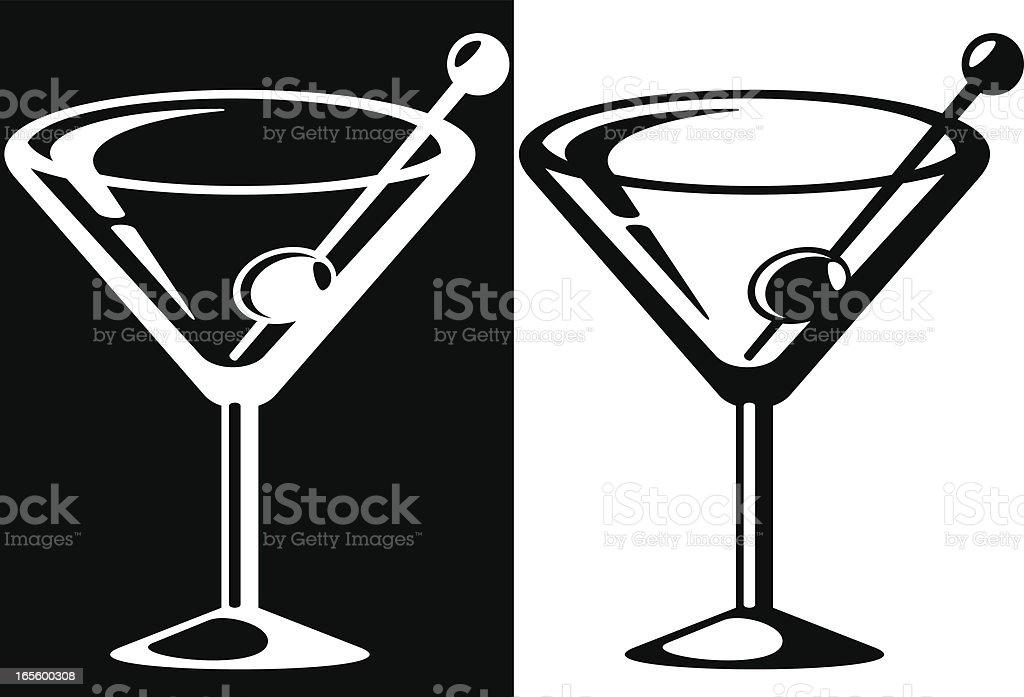 royalty free martini glass clip art vector images illustrations rh istockphoto com martini glass clipart black and white martini glass clipart