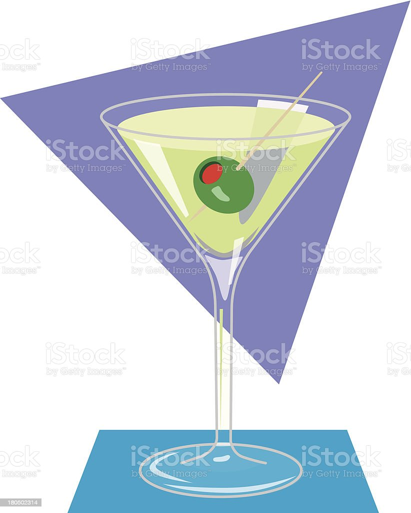 Martini royalty-free martini stock vector art & more images of alcohol