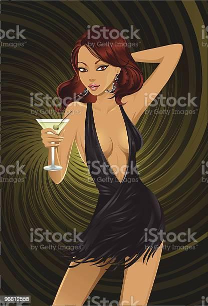 Martinigirl-vektorgrafik och fler bilder på ClipArt