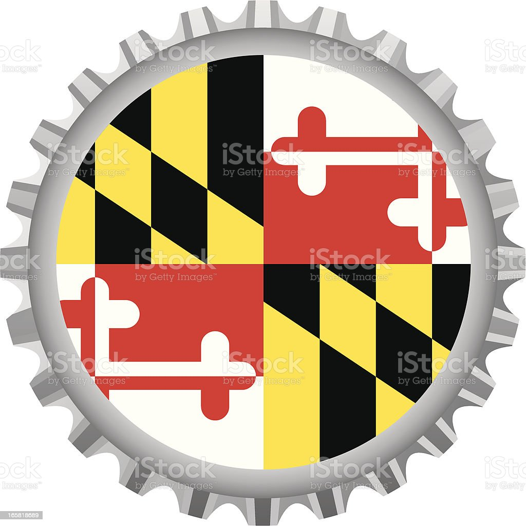 Maryland bottle top royalty-free maryland bottle top stock vector art & more images of bottle cap