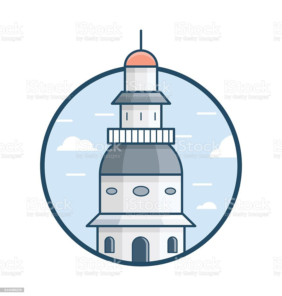 Maryland State House Vector Icon Stock Vector Art & More Images of ...